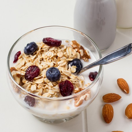 Overnight Oatmeal with Almond Milk