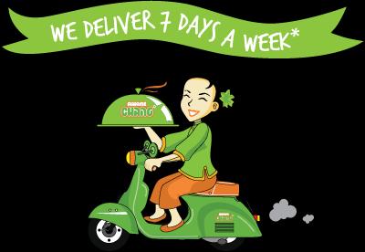 Delivery Madame Chang Surabaya