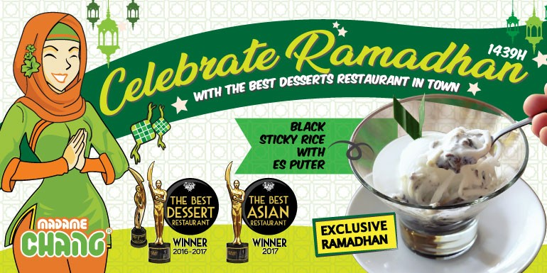 Celebrate Ramadan With Madame Chang's Black Sticky Rice Plus Es Puter